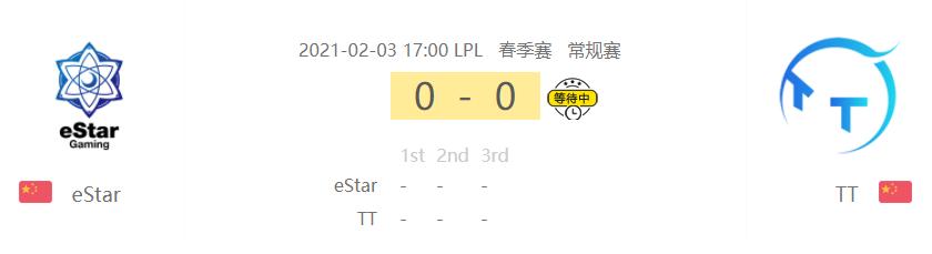 LPL两场赛事推荐:看好TT 跟JDG今晚能过关 !