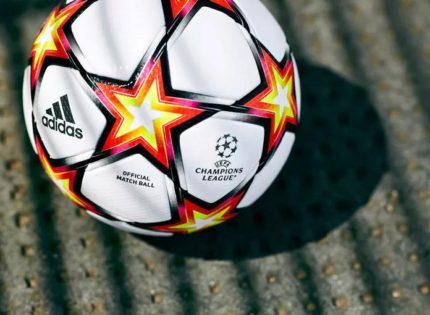 阿迪达斯发布2021-2022赛季欧冠比赛用球